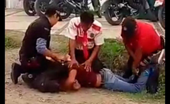 [Video] Guardias agreden a alumno en Cuautla