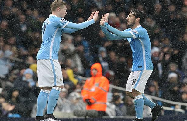 Manchester City goleó 5-1 al Huddersfield Town
