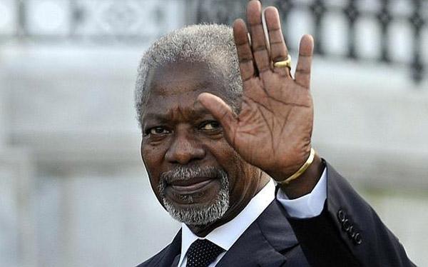 Kofi Annan, exsecretario de la ONU, confía en acuerdo climático de París