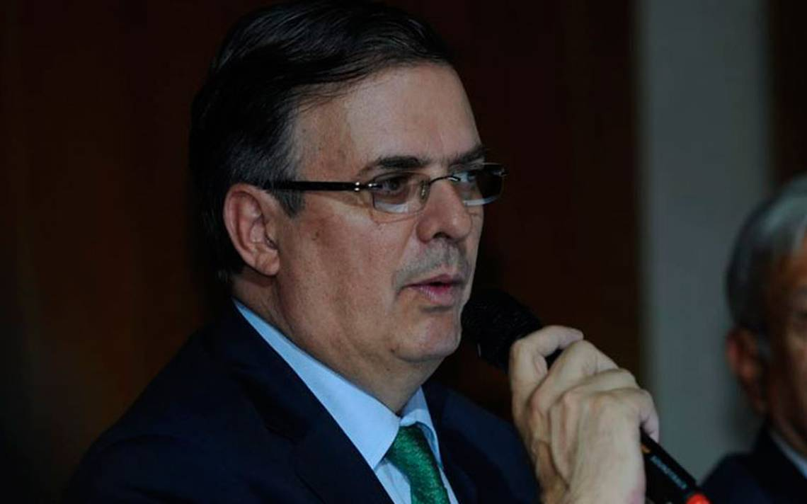 El trato de EU a México ha sido terrible, afirma el futuro canciller Marcelo Ebrard