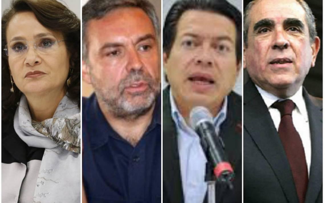Cuatro diputados quieren ser coordinadores de Morena en San Lázaro