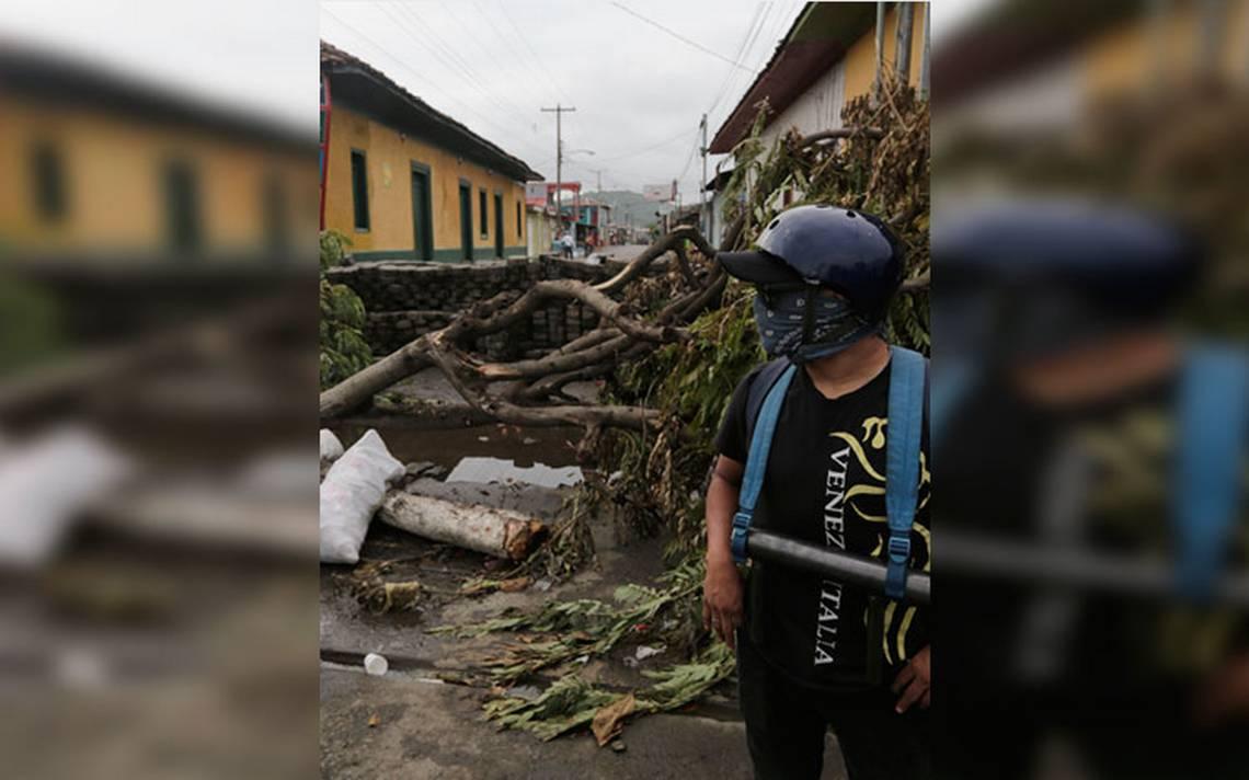 Manifestantes y policías se enfrentaron en Nicaragua, se registra un persona muerta