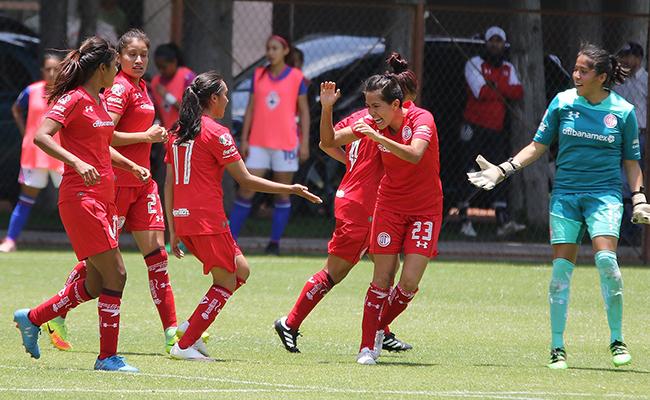 Toluca vence a Cruz Azul en  la Liga MX Femenil