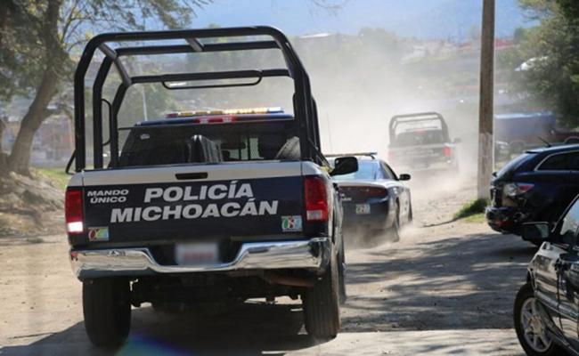 Emboscan a elementos de la Policía Michoacán