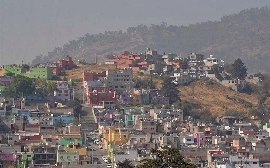 Ecatepec amanece con mala calidad de aire