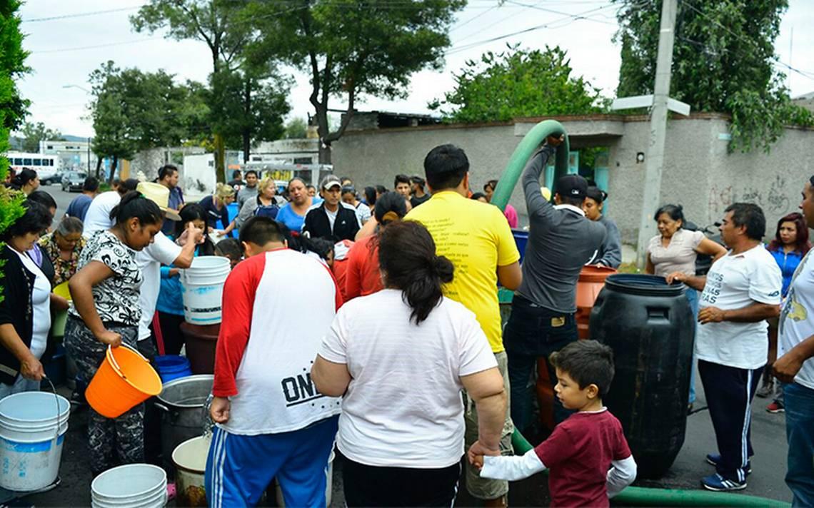 Continúa la crisis del agua en Iztapalapa