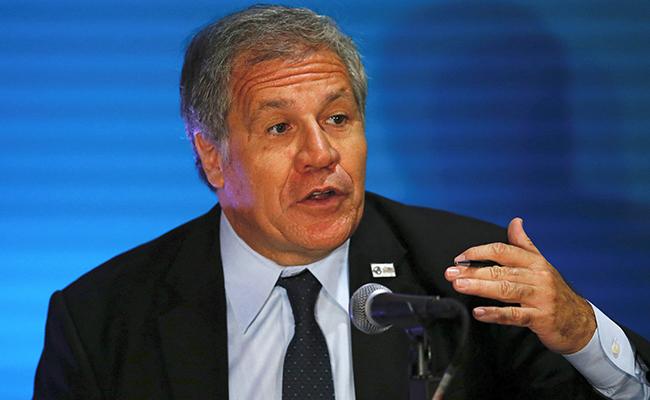 Secretario de la OEA habla con opositor venezolano Leopoldo López