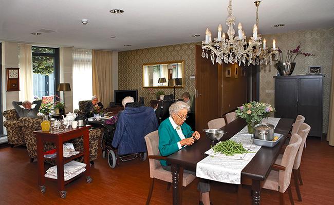 Villa demencia, casa para personas con problemas de memoria en Holanda