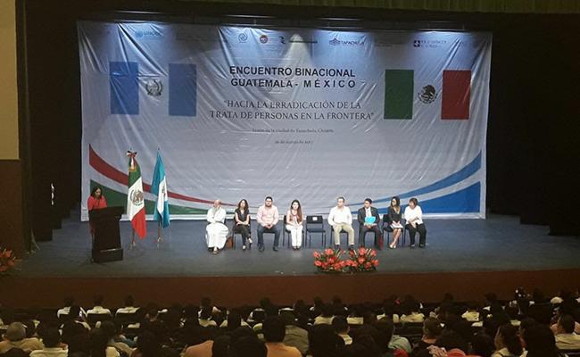 Chiapas emitió 121 sentencias contra la trata de personas