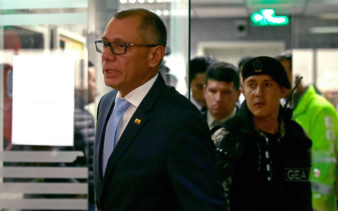 Vicepresidente de Ecuador pierde el cargo por caso Odebrecht