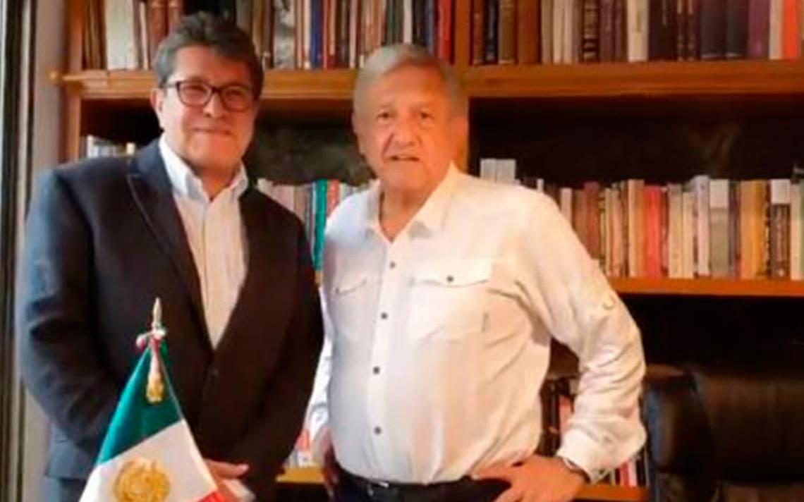 No encabezaré el poder de los poderes, subraya AMLO tras reunión con Ricardo Monreal