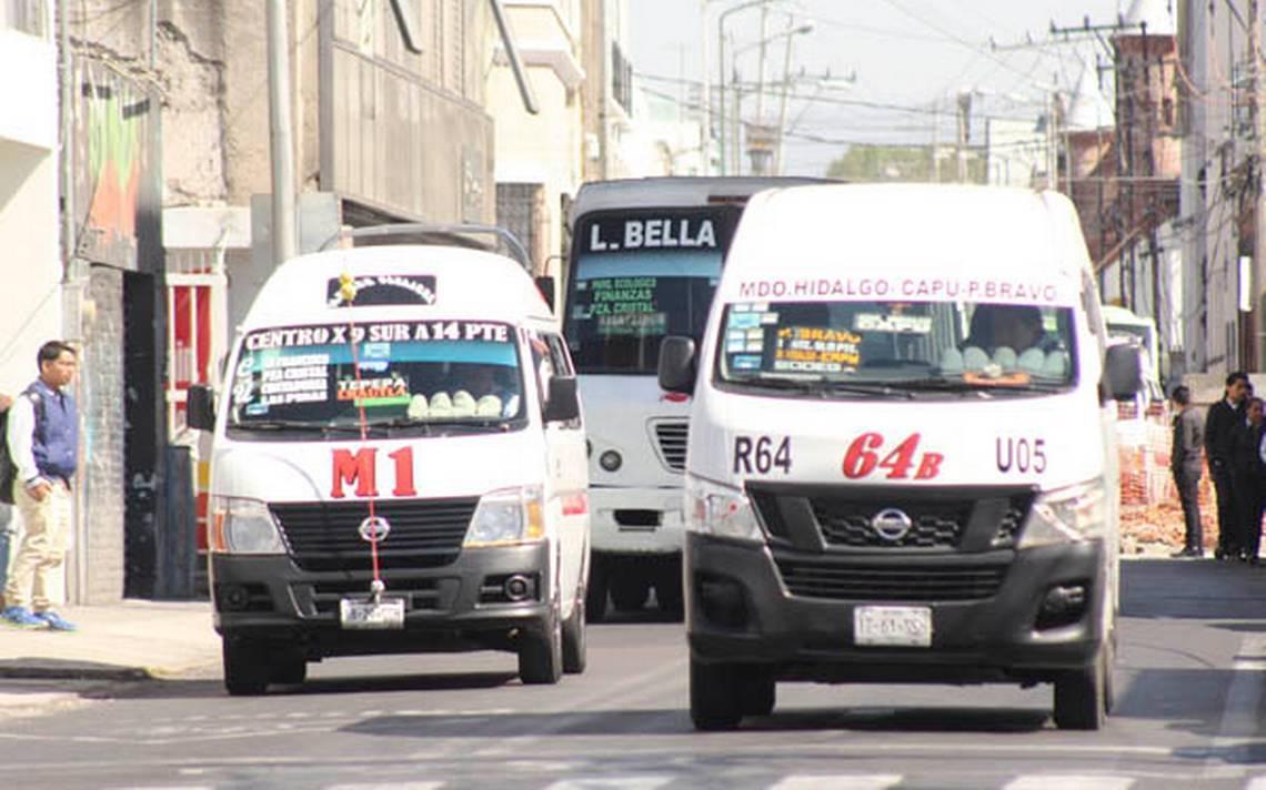 Piden aumentar pasaje en Puebla