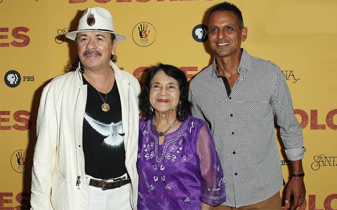 Carlos Santana produce el documental sobre la activista Dolores Huerta