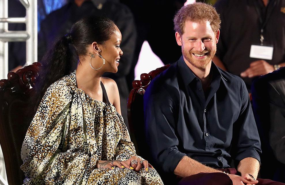 Rihanna y el príncipe Harry se realizan juntos prueba de VIH