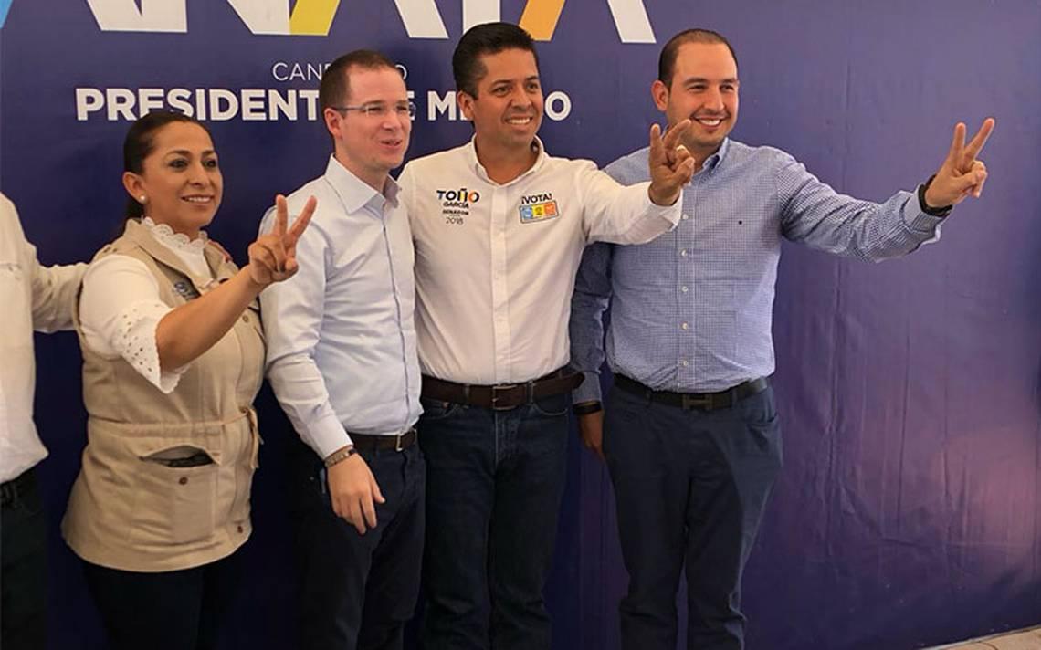 López Obrador se ha rodeado de delincuentes: Anaya