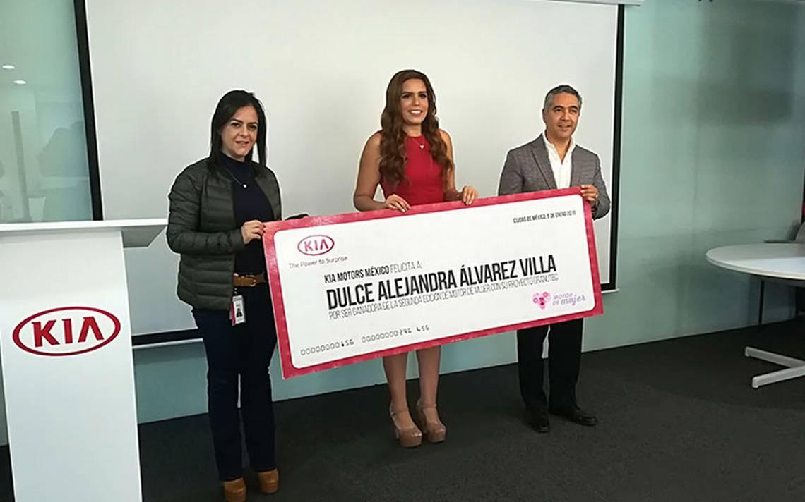 Premian a ganadora de la segunda edición de Kia 'Motor de Mujer