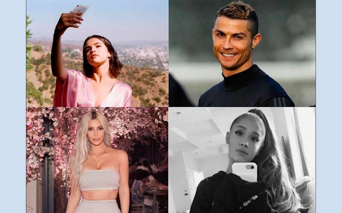 Ellos son los famosos que 'reinan' en Instagram
