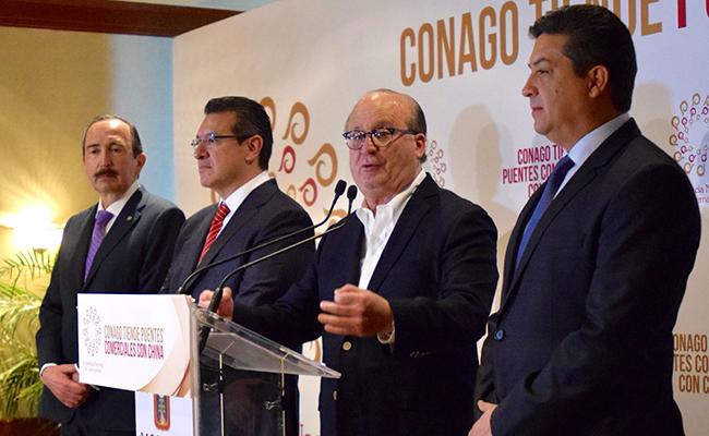China tiene gran confianza en México: Conago