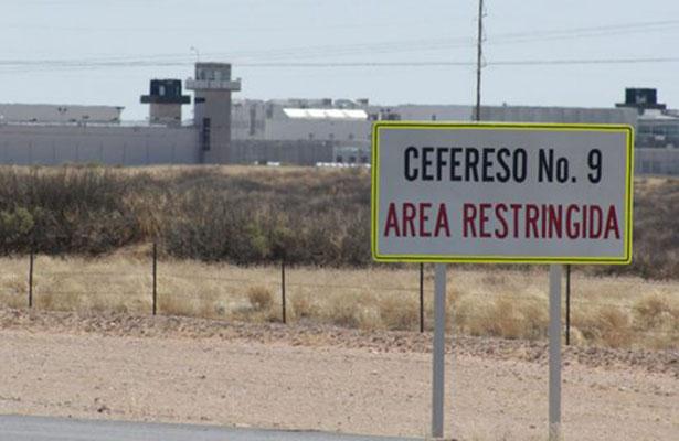 Alta seguridad camino al penal donde está El Chapo