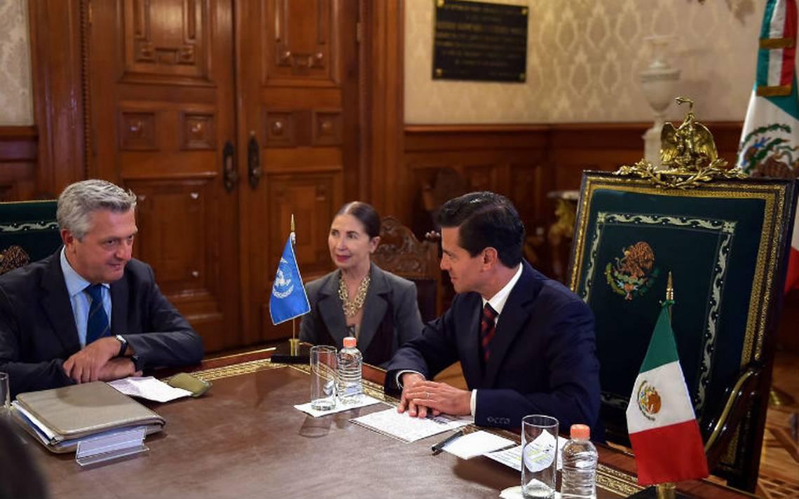 ONU reconoce acciones de México ante refugiados