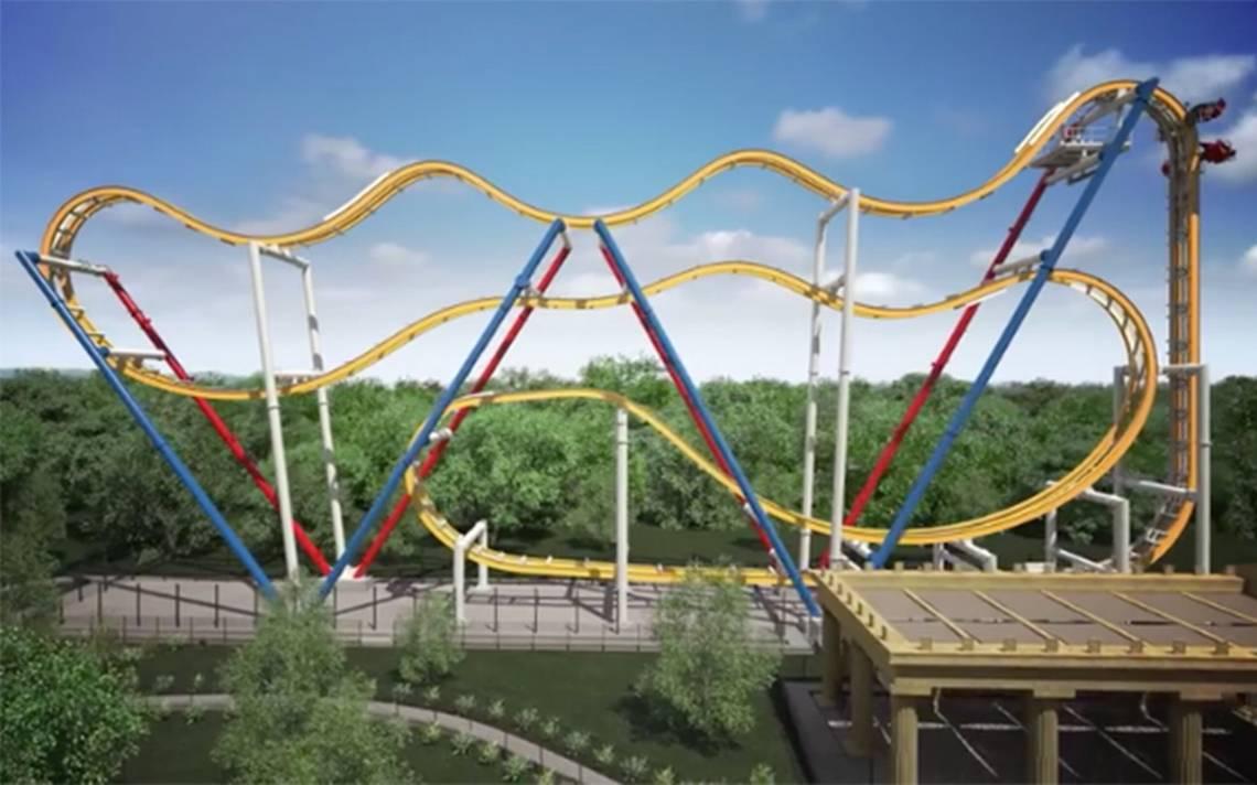 ¡Por fin! Wonder Woman Coaster se estrena en Six Flags