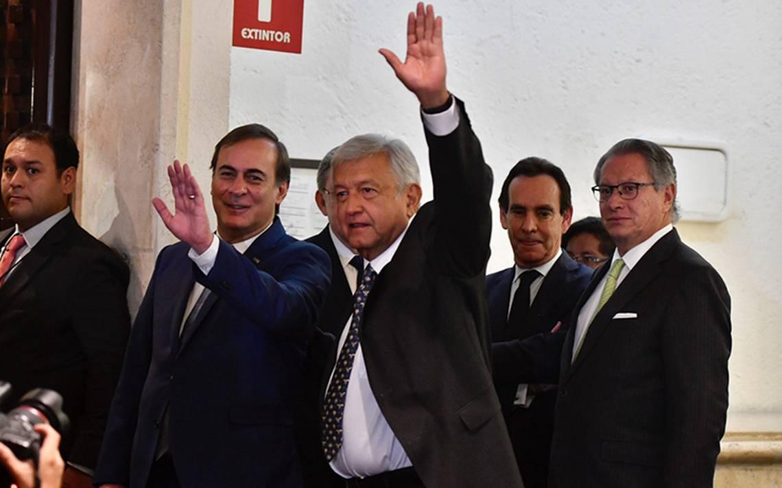 ¿De qué habló López Obrador con los empresarios?