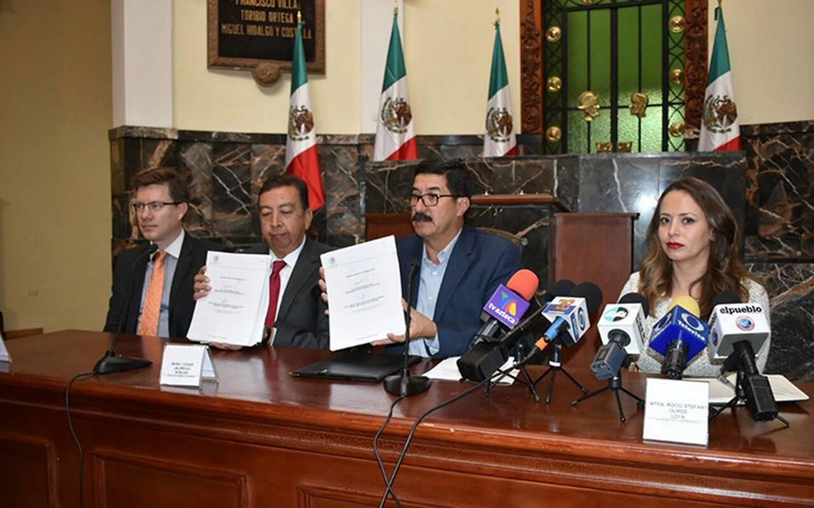 Javier Corral envía iniciativa para reformar plan anticorrupción