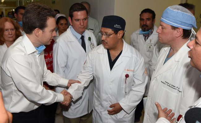 Médicos de EU y Chiapas alegran a niños con cirugías de corazón