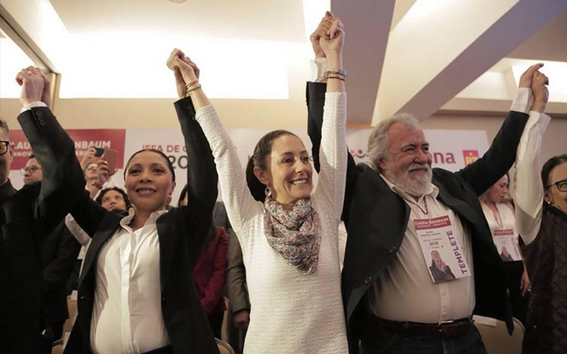 """Con """"Innovación y Esperanza"""" Sheinbaum arranca campaña en la CDMX"""