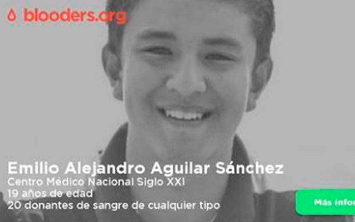 Emilio, estudiante de UNAM agredido por porros, necesita donadores de sangre