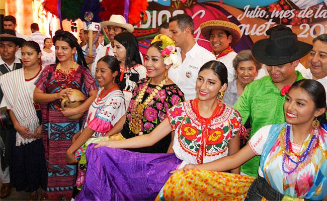 Gobierno de Oaxaca presenta festejos de Guelaguetza 2017