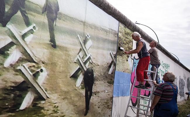 A 56 años del inicio de la construcción del Muro de Berlín