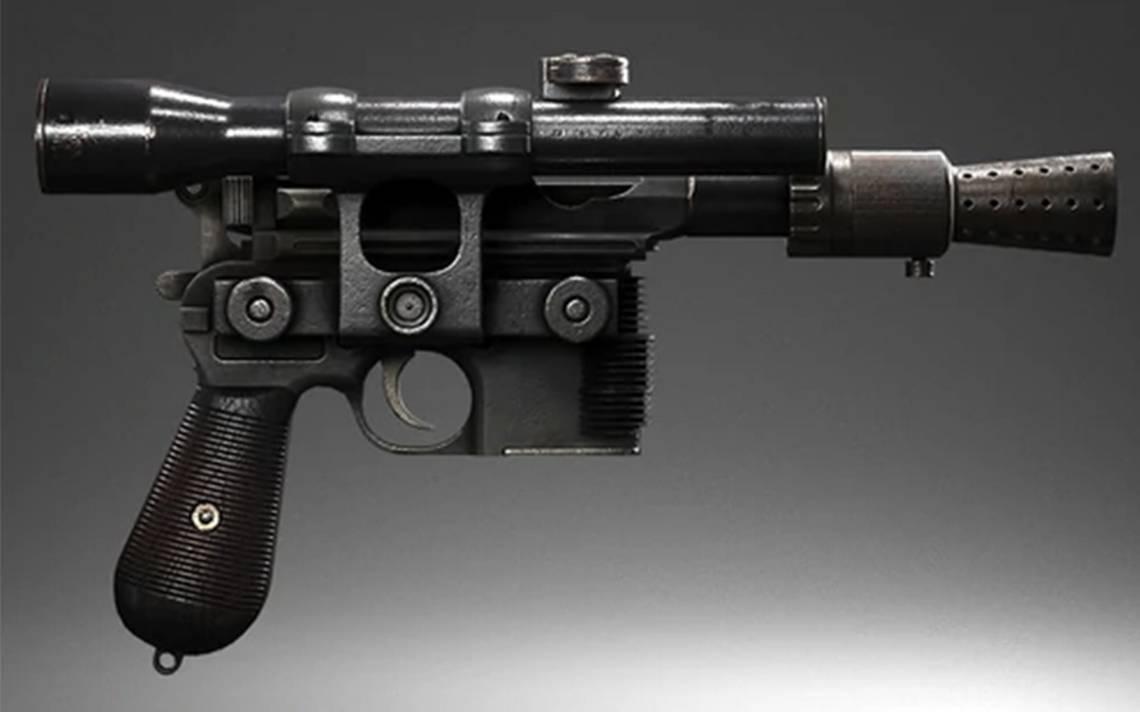 "Por primera vez sale a subasta la pistola de Han Solo en ""Return of the Jedi"""