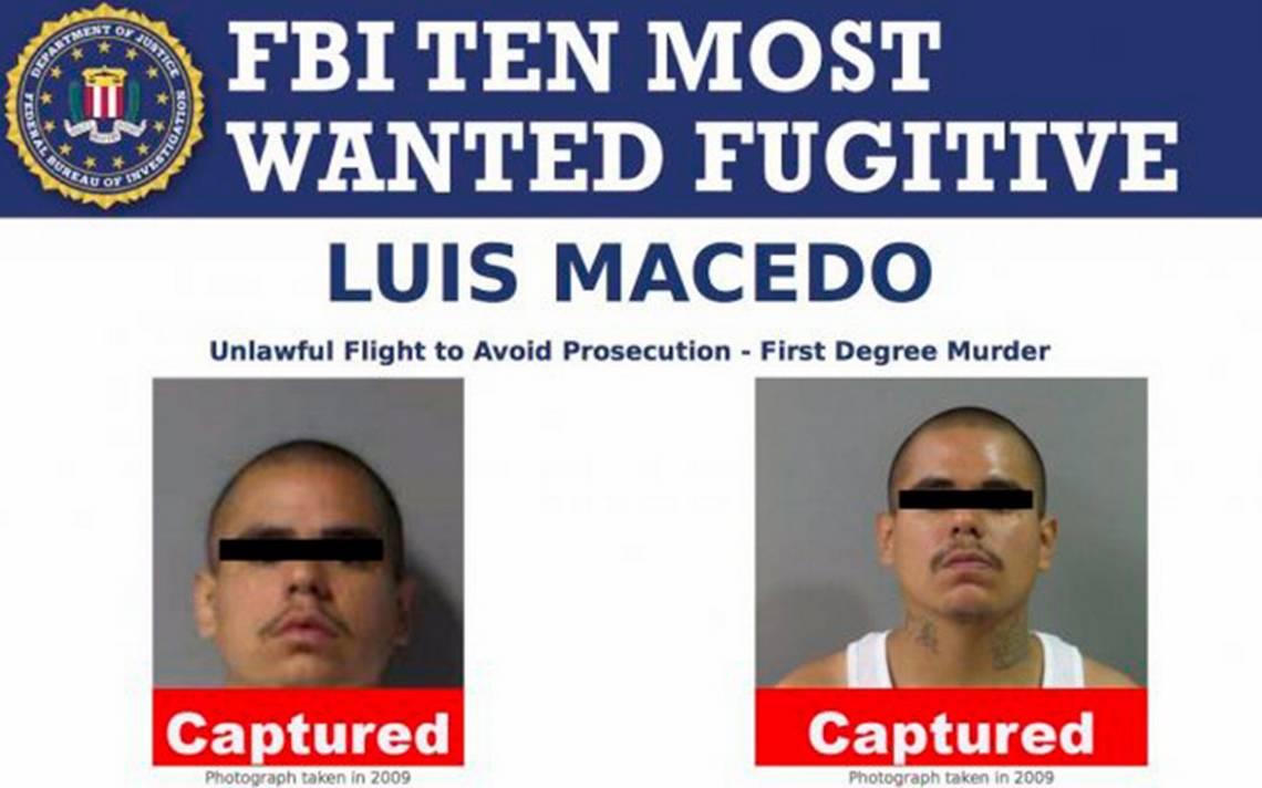 Cae en Guadalajara uno de los 10 fugitivos más buscados por el FBI
