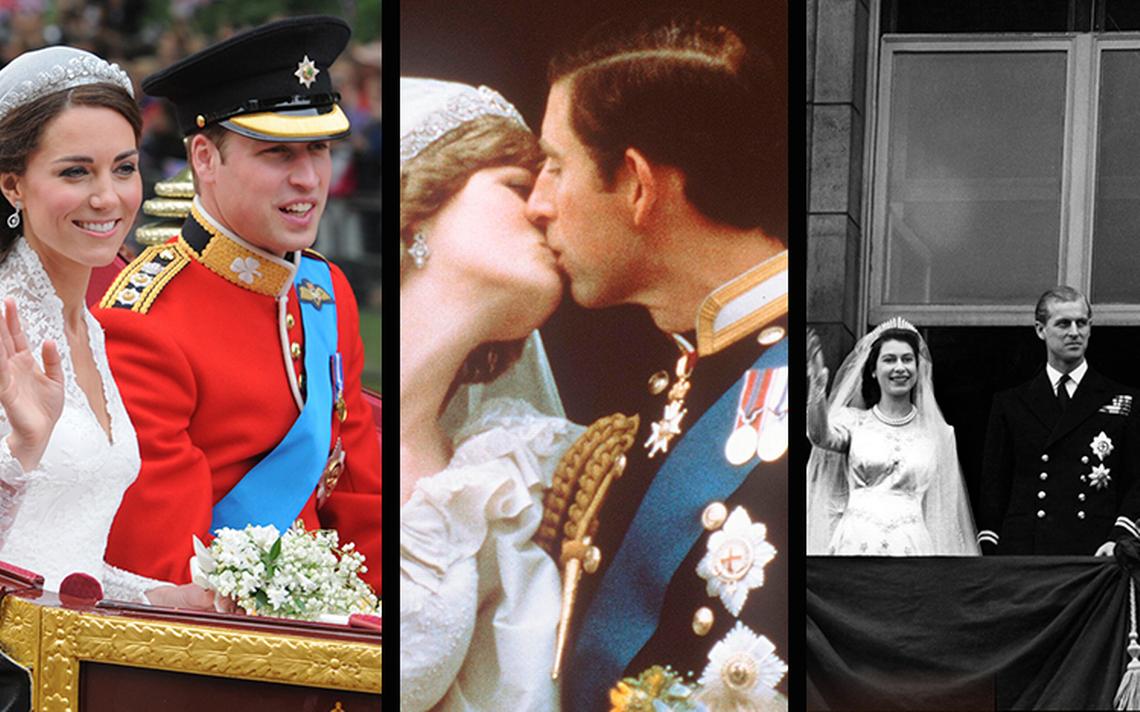 Tres grandes bodas reales de la monarquía británica que marcaron historia