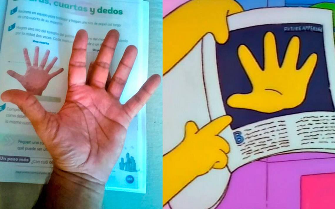 Libro de la SEP publica mano con seis dedos y ¡los memes no se lo perdonan!