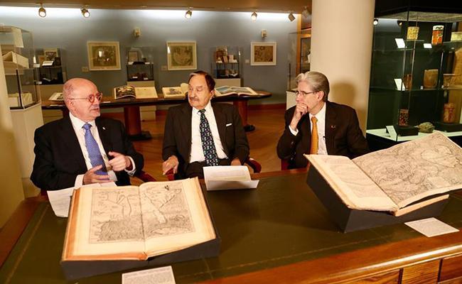 Miami albergará colección histórica  que incluye cartas de Cristóbal Colón