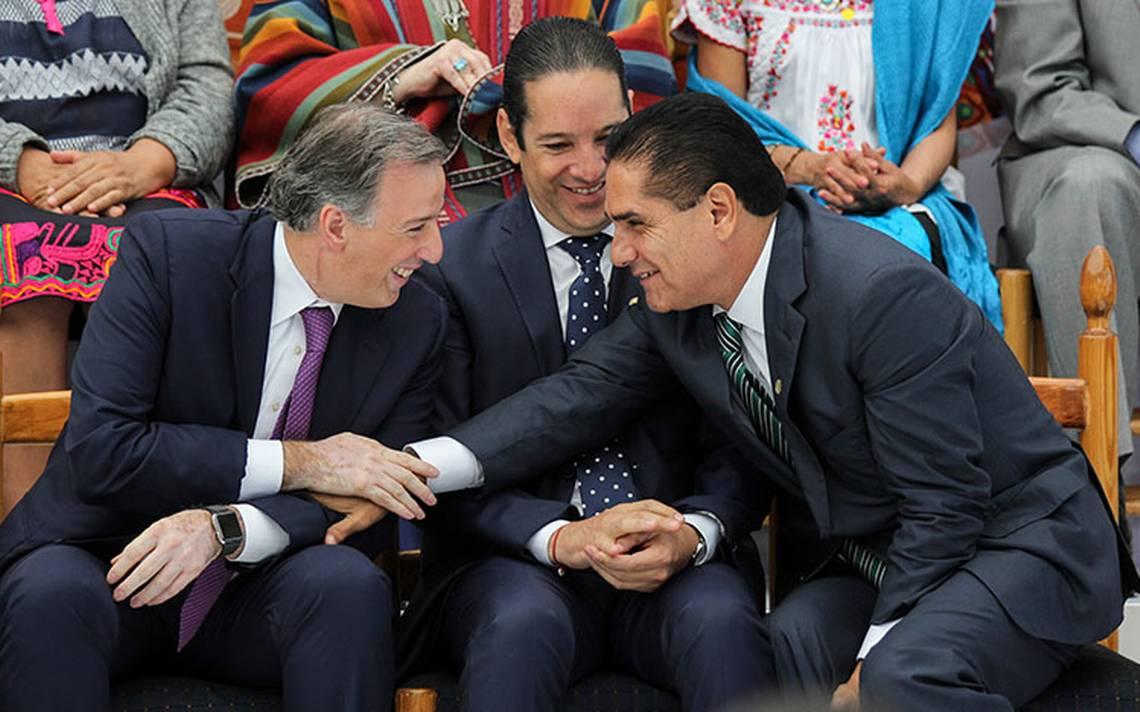"""Silvano Aureoles respaldará a Meade; """"no te fallaré"""", responde"""