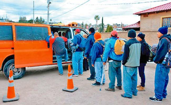El Instituto Nacional de Migración deportó a 10 inmigrantes hondureños