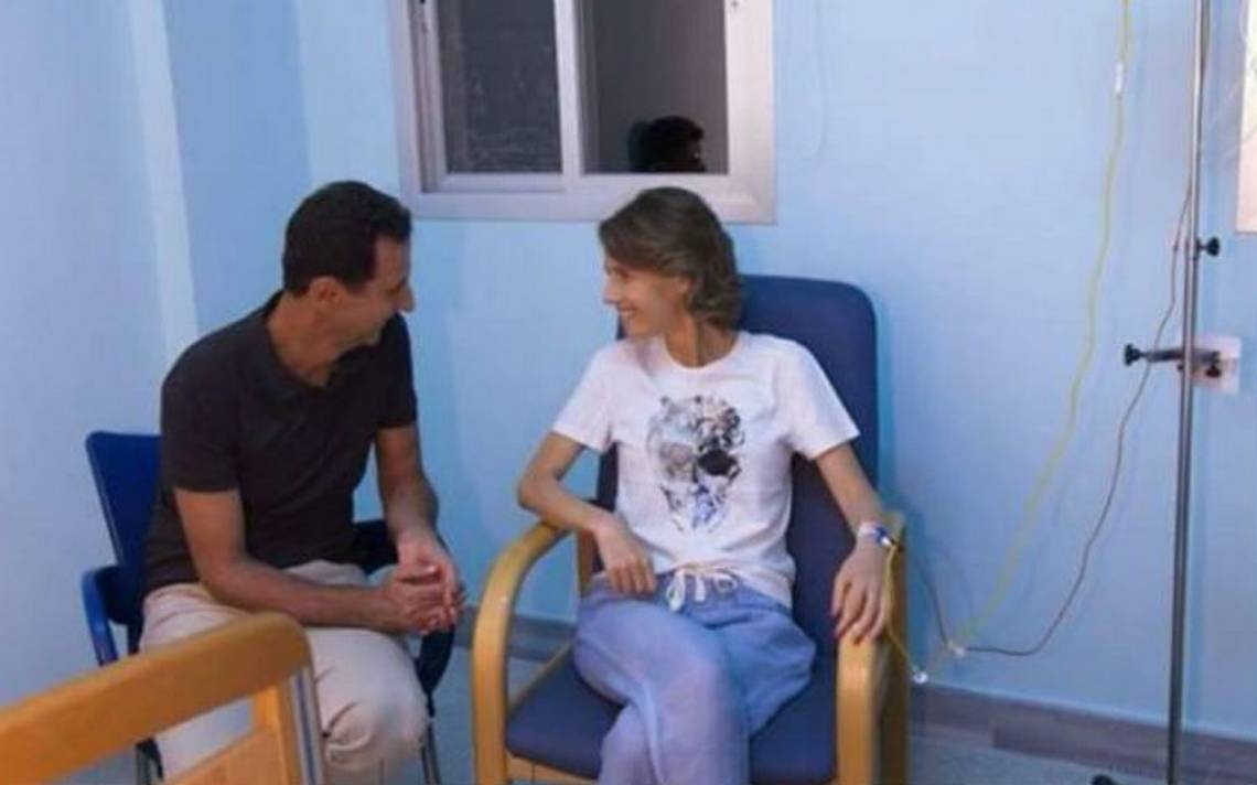 Esposa de Bashar al Assad sufre cáncer de mama en fase inicial