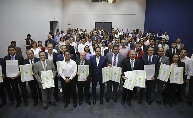 Entregan certificados del Programa Nacional de Auditoría Ambiental