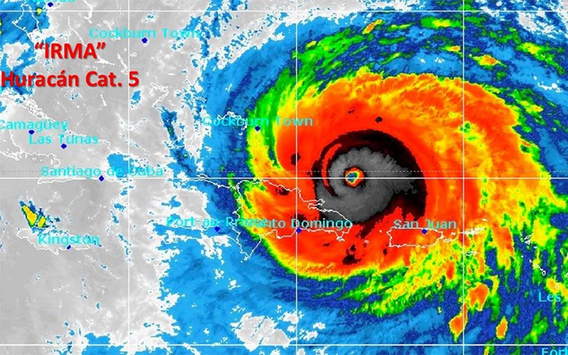 Irma se moverá hoy sobre República Dominicana, Haití y Bahamas