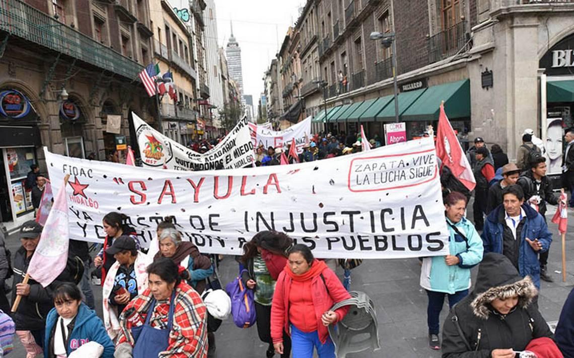 Estás son las marchas que afectarán la vialidad en la Ciudad de México