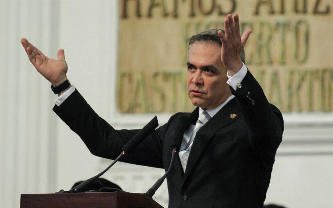 Mancera afirma estar listo para ir 'de frente' por el Frente Ciudadano