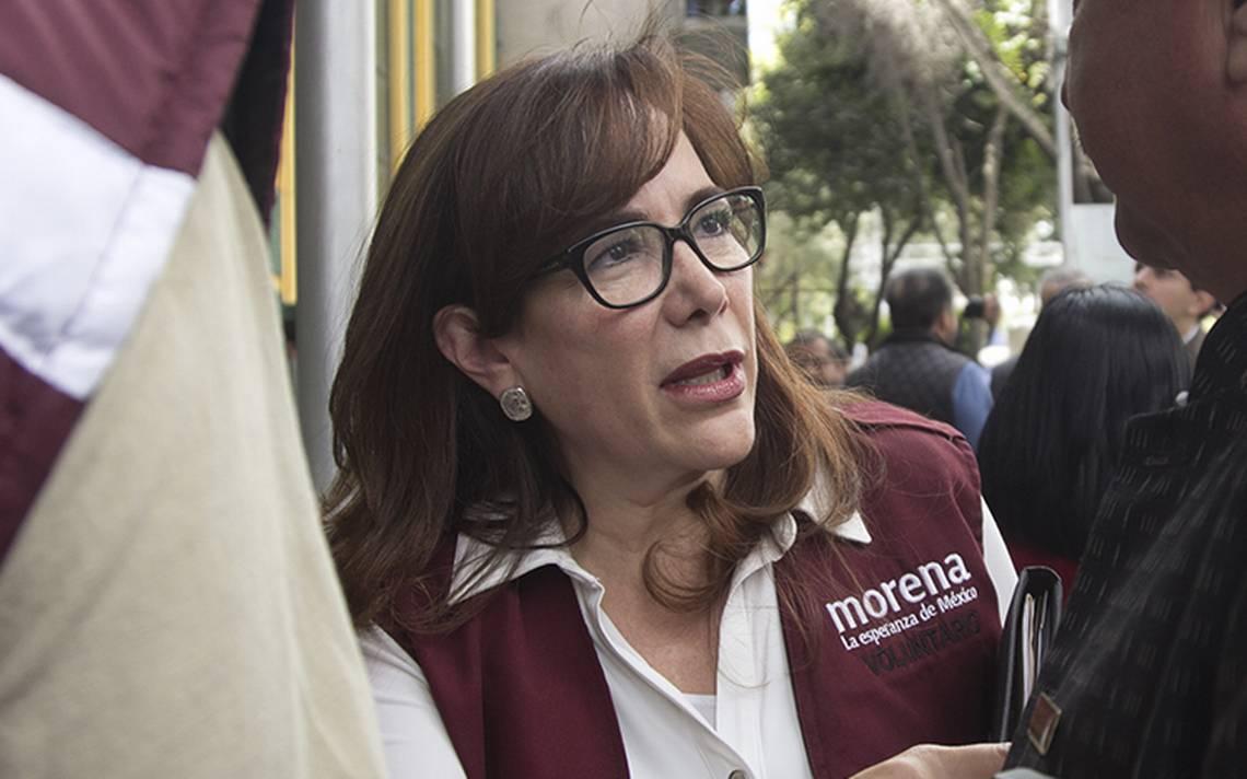 """""""Vamos a pelear hasta el final"""", dice Yeidckol tras conflicto electoral en Puebla"""