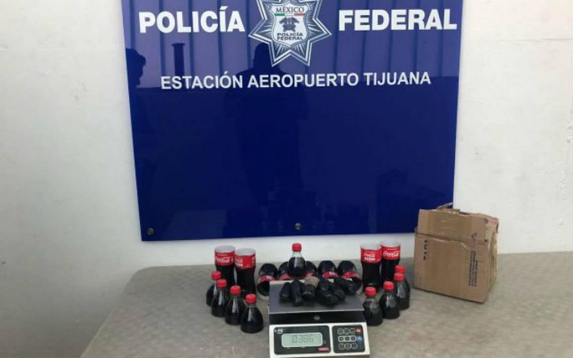 Federales y militares aseguran droga oculta en botellas Coca Cola en Tijuana