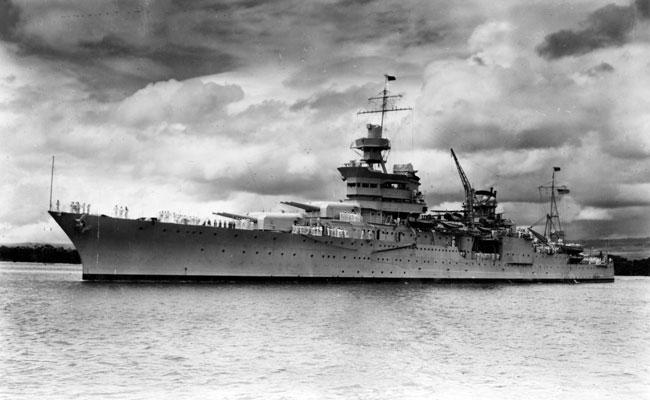 Restos del buque USS Indianapolis son hallados 72 años después de hundirse