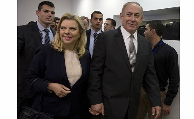 Pelea doméstica lleva a Netanyahu ante el juez