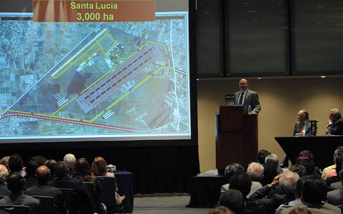 Base aérea de Santa Lucía, la mejor opción para aeropuerto: Jiménez Espriú