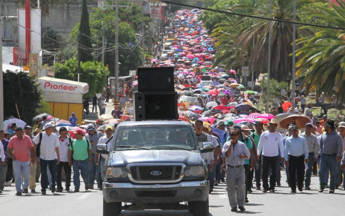 Anuncia Sección 22 de la CNTE marcha para este lunes en Oaxaca
